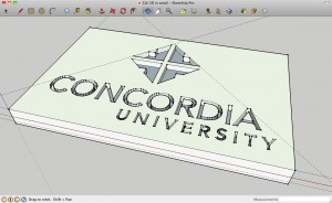 finished 3D logo #2
