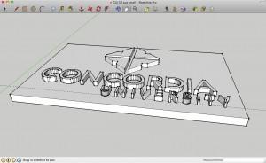 finished 3D logo #1